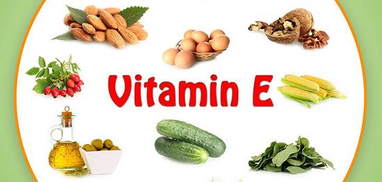 Các loại thực phẩm có nhiều Vitamin E